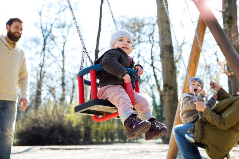 Best Toddler Swings With Frame