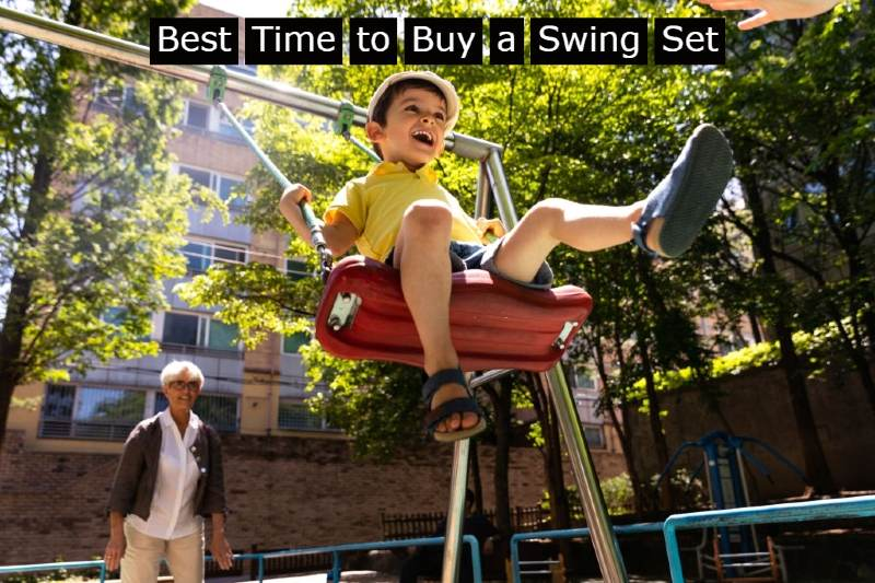 Best Time to Buy a Swing Set