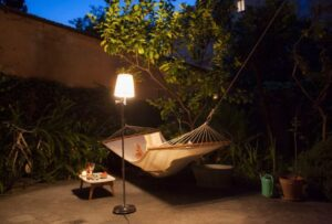 Build a Permanent Backyard Structure for Hammock